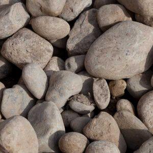 """2""""-5"""" River Stone"""